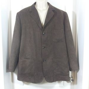 Pendleton Brown 3 Button Sports Jacket Blazer Coat